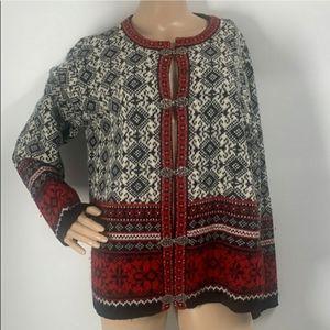 Norwegian Cambridge dry goods wool sweater